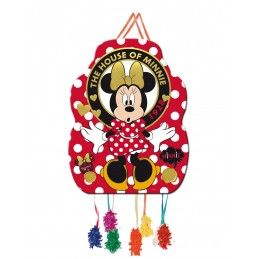 PIÑATA MEDIANA MINNIE GOLD