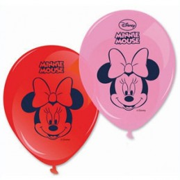 GLOBOS DE  LÁTEX  DE MINNIE