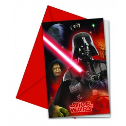 INVITACIONES STAR WARS