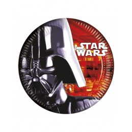 PLATOS GRANDES STAR WARS