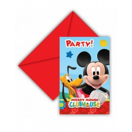 INVITACIONES MICKEY VERTICAL