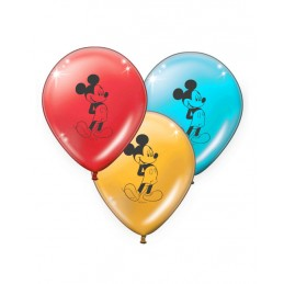 GLOBO LATEX MICKEY IMPRESO...