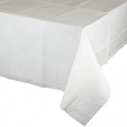 MANTEL DE PAPEL BLANCO 25m